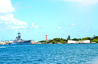 USS Arizona Memorial & USS Missouri