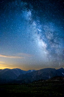 Milky Way over RMNP